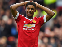 Rashford debiutuje w Manchesterze United i strzela 2 gole