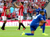 Marcus Rashford strzelił gola w meczu z Leicester City FCr